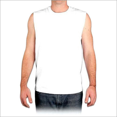 Mens Sleeveless T Shirt