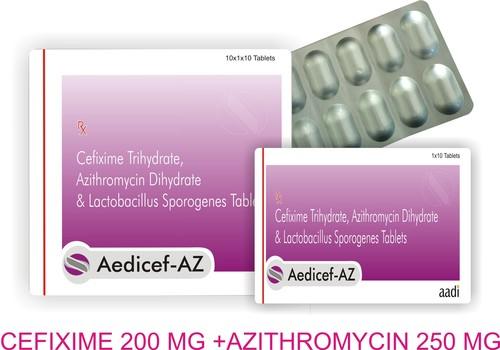 Aedicef-az tablets