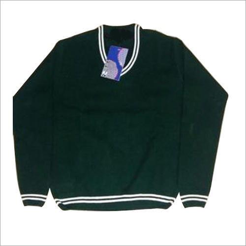 Kids Green School Sweater