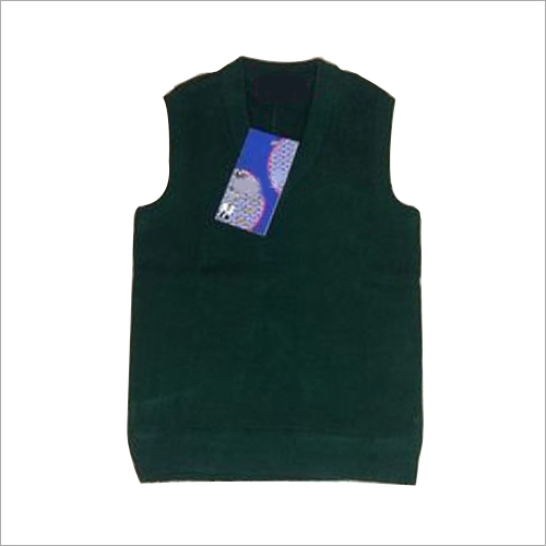 Kids Sleeveless School Sweater