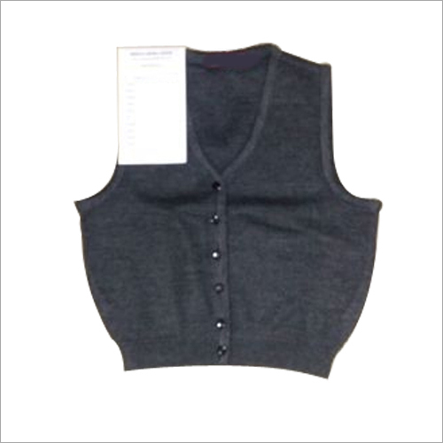 Kids Sleeveless Cardigan