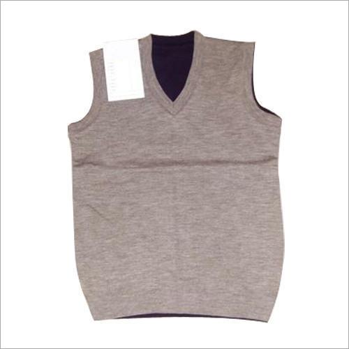 Mens Plain Sleeveless Sweater