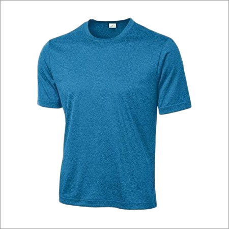 Mens Round Neck Athletic T Shirt