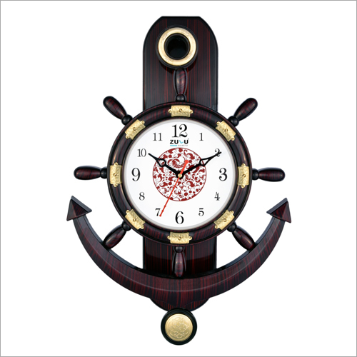 Anchor Designer Pendulum Wall Clock