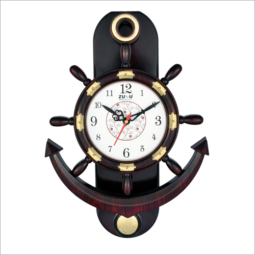 Anchor Wooden Pendulum Clock