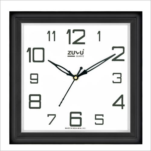 Wood Color Wall Clock