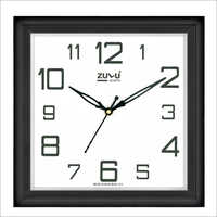 Wood Color Wall Clock
