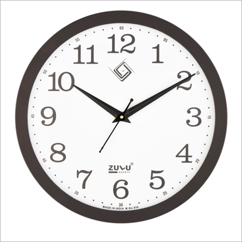 Plane Color Wall Clock