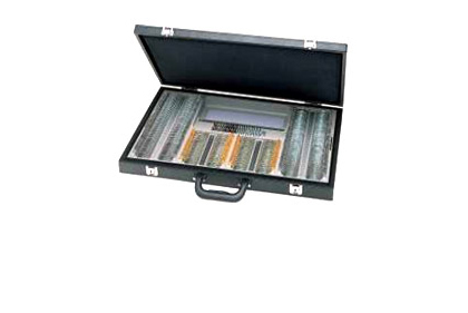 Deluxe trial case in leather Briefcase