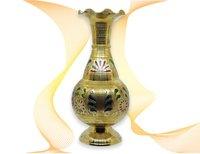 Golden Vase (Colorful Texture)