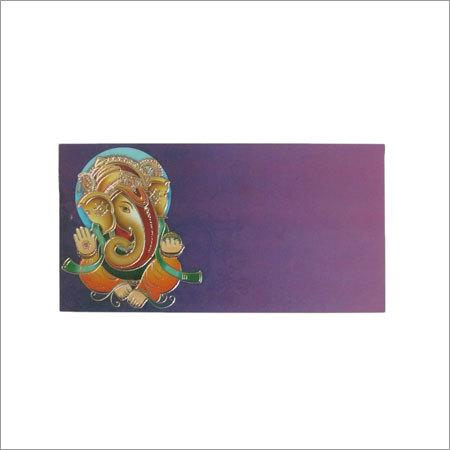Ganesha Velvet Envelope