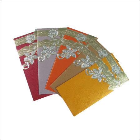 Flower Rangoli Envelope