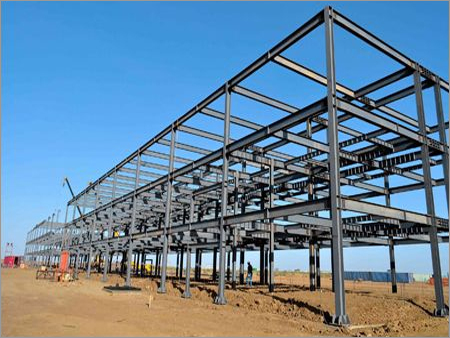 Steel Structure Fabrication Work