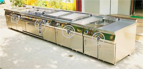 STAINLESS STEEL COOKING BATTERY