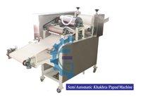 Semi Automatic Udad Papad Making Machine