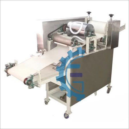 Semi Automatic Rice Papad Making Machine