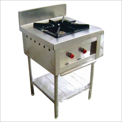 Stainless Steel Single Burner Range