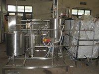 Milk Pasteurizer 500LPH