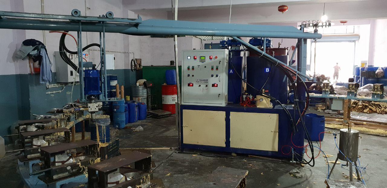 PU Machine Banana Type