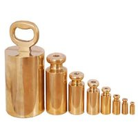 Brass Measuring Weights