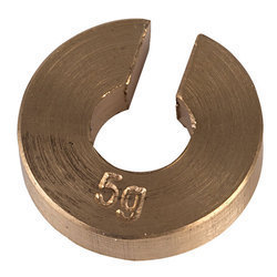 Brass Slotted weights