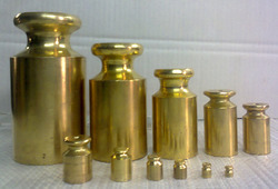 Brass Calibration Weights
