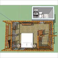 Modern Bamboo Interiors Designs