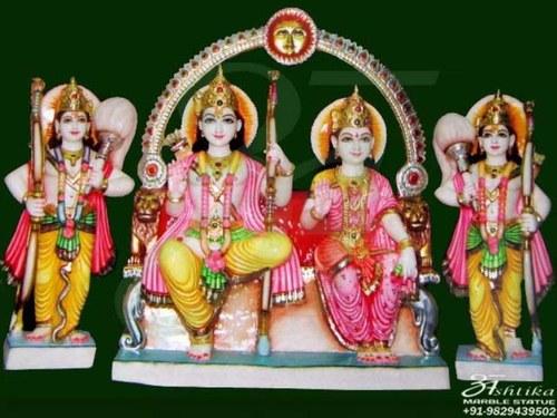 Marble Ram Darbar Statue Manufacturer