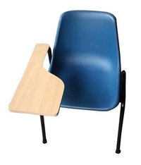 WRITING PAD Chair With WOODEN Handle
