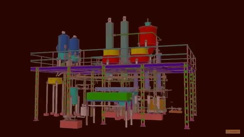 3D View of Jaggery Plant