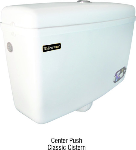 Center Push Flushing Cistern