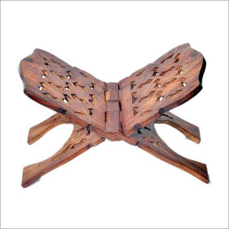 Wooden Book Stand (Rehel)