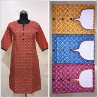 Tailor-made Cotton Kurtis