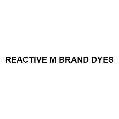 Reactive M Brand Dyes