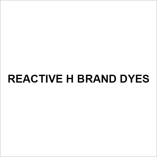Reactive H BRAND Dyes