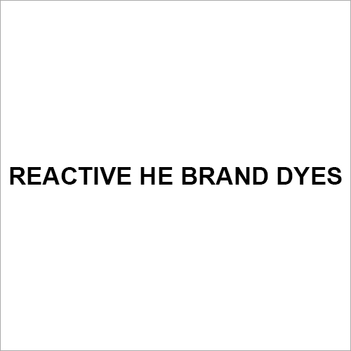 Reactive HE BRAND Dyes