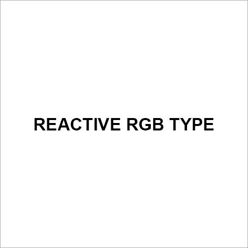 Reactive RGB Type