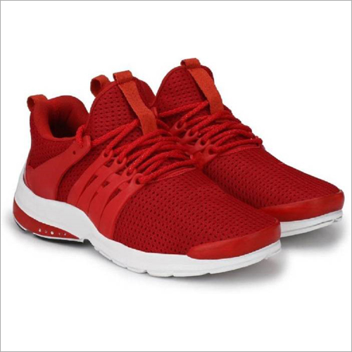 Men'S Red Color Sports Shoes at Best