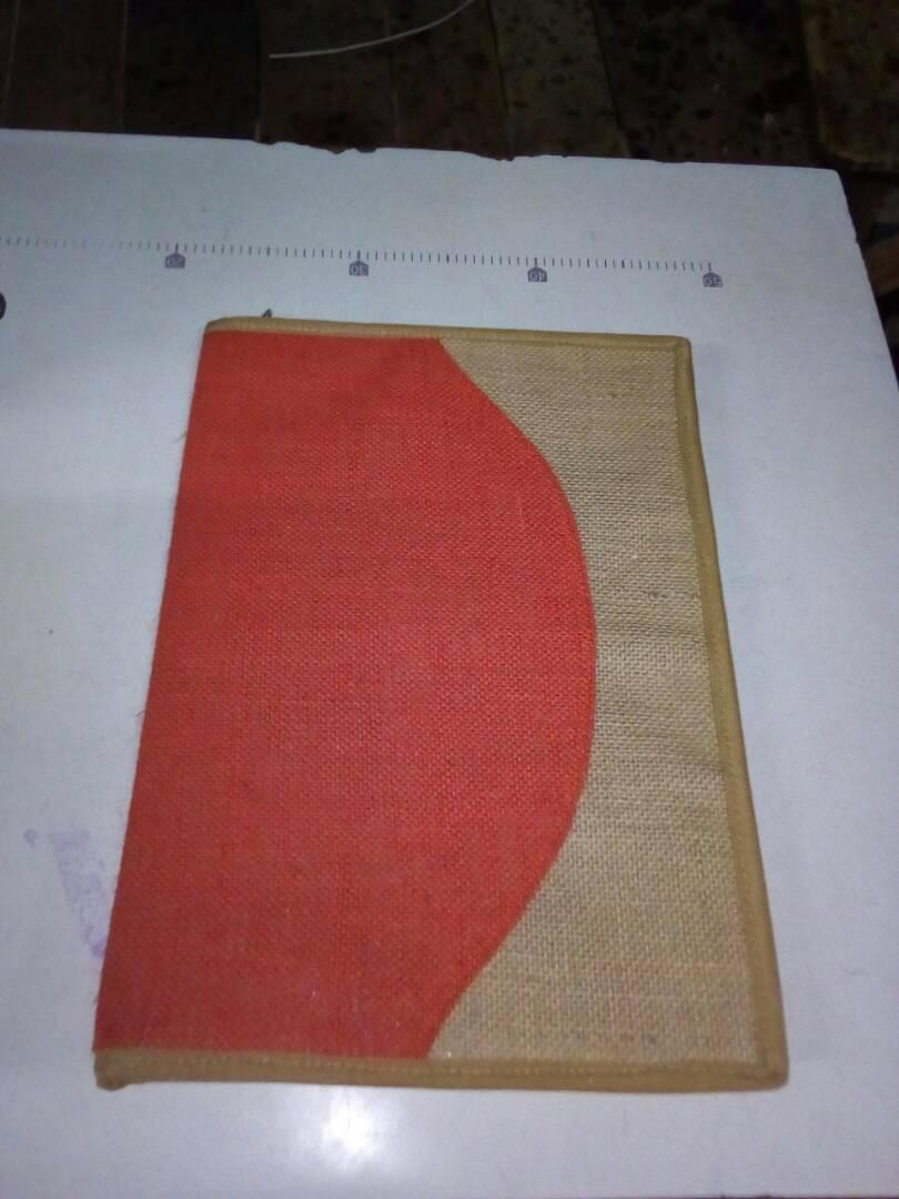 Designer Jute Folder
