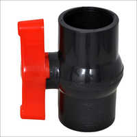 Plastic Black Ball Valve