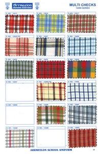 Multi Checks Fabric