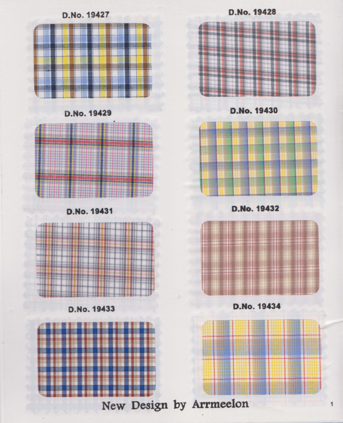 Arrmeelon Exclusive Shirtings Fabric