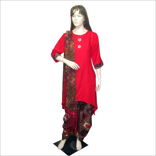 Ladies Dhoti Salwar Set