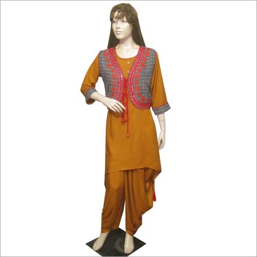 Stylish Dhoti Salwar Set