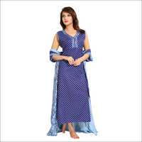 Ladies 2 Pieces Cotton Nightgown