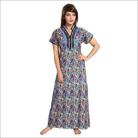 Ladies Cotton Fancy Nighty
