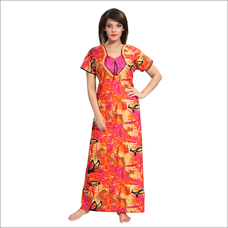 Ladies Cotton Trendy Nighty