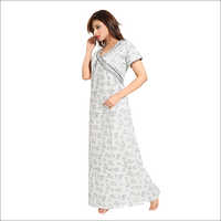 Ladies Pure Cotton Nighty