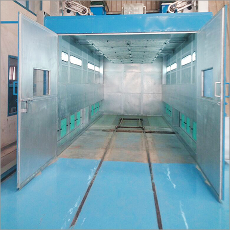 Dry Type Paint Booth Cum Oven