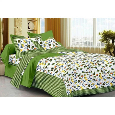Floral Print Long Bed Sheet